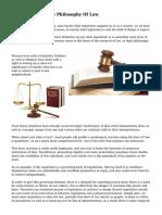 Understanding The Philosophy Of Law