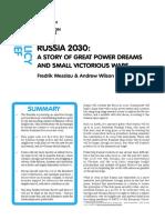 RUSSIA 2030
