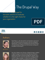 Drupal for Intranets