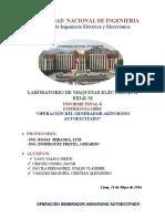 Informe Final 6, maquinas electricas 2