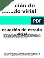 Ecuacion Virial