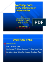 Overhung Fans