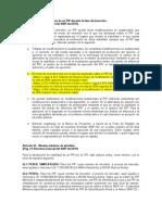 Artículo 27 y 22 - Modificaciones de Un PIP Durante La Fase de Inversión % Topes