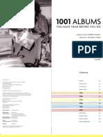 1001 Albums que hay que escuchar antes de morir
