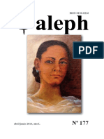 Aleph No. 177. Abril - Junio 2016