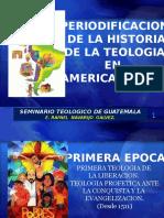 Periodificacion de La Teologia-2015