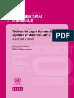 Sistemas de pagos transnacionales vigentes en América Latina