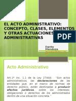 DER.adm.I-7. Acto Administrativo