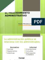 DER.adm.I-13. Procedimiento Administrativo