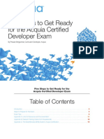 Five Steps for Acquia Certified Developer Exam