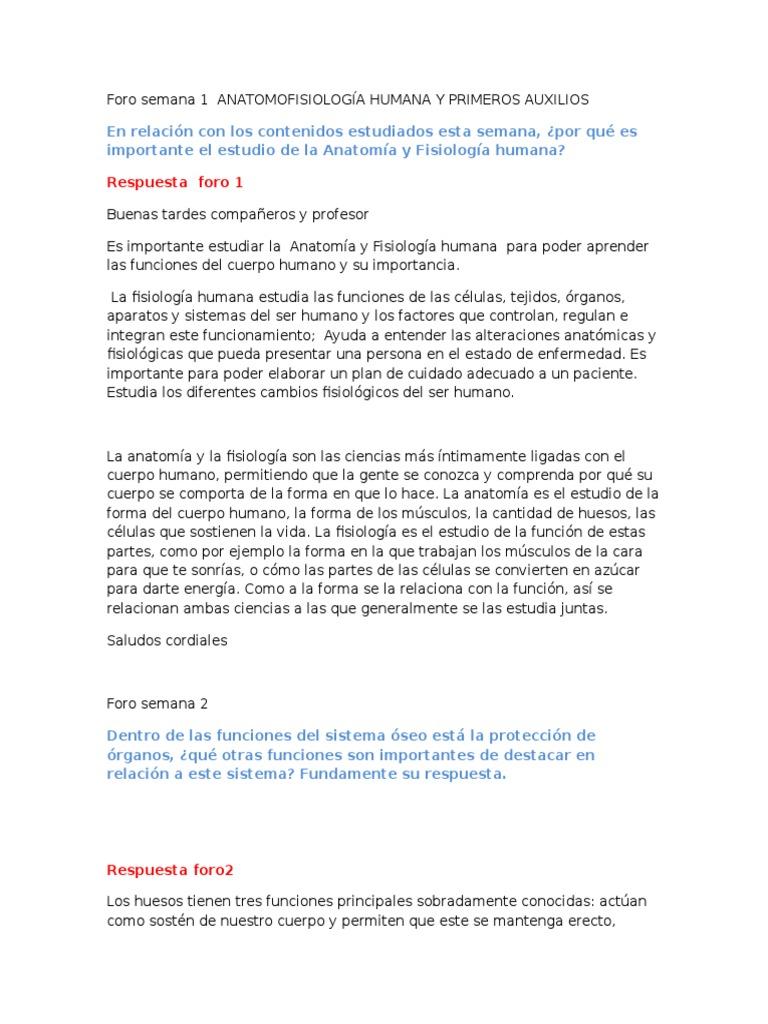 Increíble Anatomía Y Fisiología Humana Respuestas Colección de ...