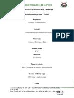 Mapa Conceptual de Las Generalidades de La Auditoria Gubernamental