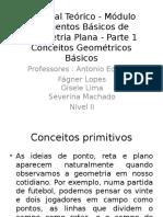 Material Teórico - Módulo Elementos Básicos de Geometria