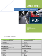teaming manual 2013 2014