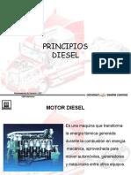 Operación y funcionamiento a Diésel.