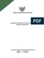 9_perka Bkn Nomor 21 Tahun 2011 @ Pedoman Pelaksanaan Evalua