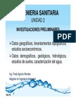 Presentacion - Investigaciones preliminares
