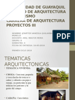 Tematicas y Temas Arquitectonicas