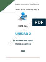Unidad 2 Programacion Lineal Grafico
