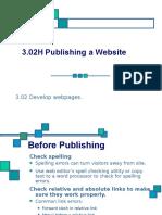 3.02H Publishing a Website