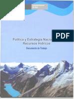 Políticas estratégicas de riego