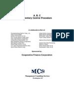 ABC Inventory Procedure