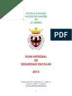 17 Plan Integral de Seguridad Escolar Scuola Italiana 2013