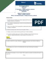 MIV - U1 - Actividad 1. Trabajo Mecánico y Potencia