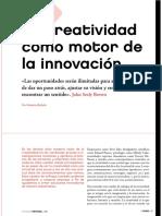 1. La Creatividad Como Motor de La Innovacion Revista if No 55