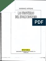M ARTIGAS Las Fronteras Del Evolucionismo PDF