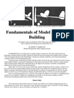 Fundamentals of Model Airplane Building Part 5