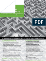 Integrating Internal Displacement in Peace Processes
