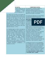 Cuadro Identidad digital y Competencia digital