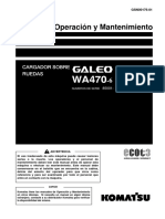 O&M WA470-6 85001 up GSN00176-01
