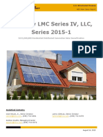 KBRA ABS SolarCity LMC Series IV LLC Series 2015-1 New Issue Report