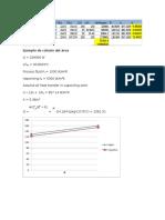Cálculo Del Área Heater,Compressor and Pumps