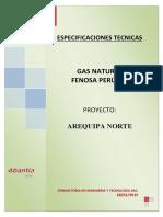 CI 014-133 - Especificaciones Tecnicas - Arequipa Norte