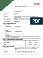 MSDS DuPont Chlorine Dioxide