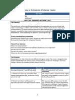 unit planning template
