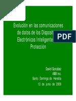 DEI Evolucion de Comunicacion de Datos