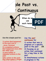 Simple vs Past Continuous