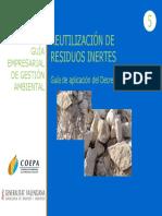 Reutilizacion de Residuos Inertes