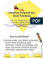 Proposal Penelitian 2016
