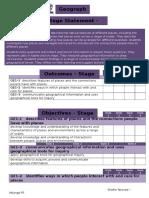 s1 geo checklist