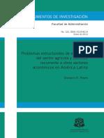 Problemas estructurales de empresas del sector agrícola
