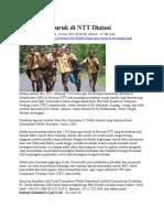 Kasus Gizi Buruk Di NTT Diatasi