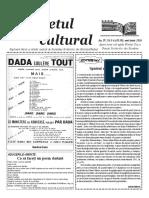 Răsunetul cultural mai-iunie 2016