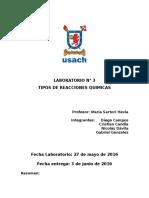 Laboratorio 3 Tecnologia de Laboratorio Quimico