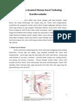 Mekanisme Kontrol Sistem Saraf Terhadap Kardiovaskular