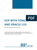 Tomcat 7 and Oracle 11g